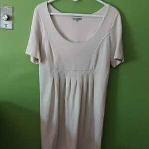 White cotton James Perse LA dress